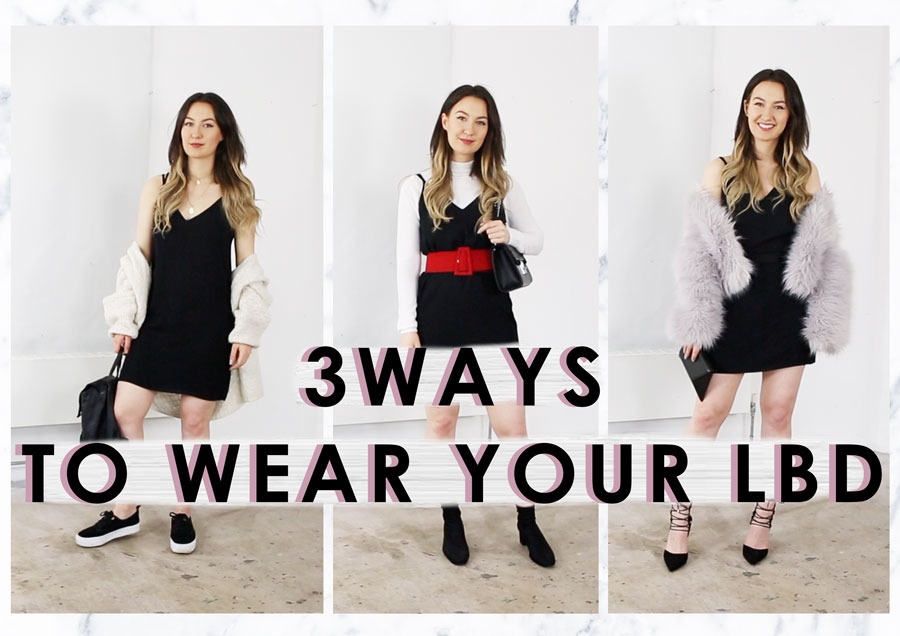 3 Ways To Wear Your LBD